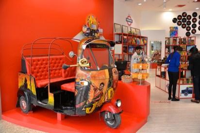 photos auto rickshaw at Mumbai's Terminal T2 at the Chhatrapati Shivaji International Airport by Arun Shanbhag