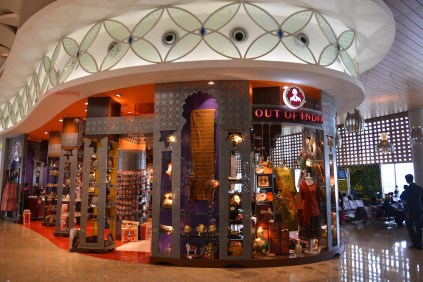 photos of store at Mumbai's Terminal T2 at the Chhatrapati Shivaji International Airport by Arun Shanbhag