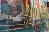 pics of art and murals at Mumbai's Terminal T2 by Arun Shanbhag