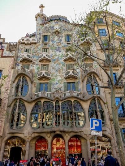 barcelona- casa battlo- gaudi