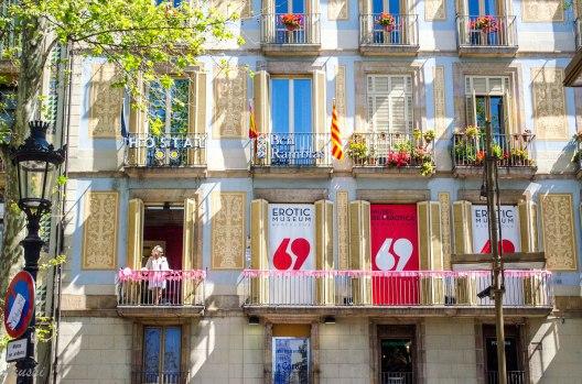 barcelona- la ramblas