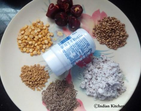 Bisibelabath powder ingredients