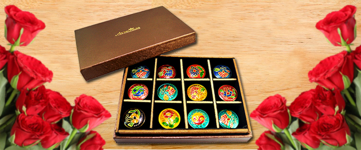 Surprise your valentine by gifting 12 different solid perfumes