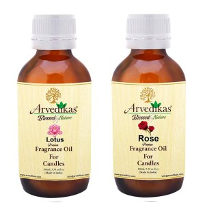 Rose & Lotus Fragrance Oil For Candle Making