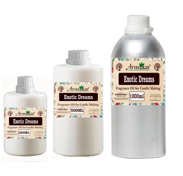 Exotic Dreams Fragrance Oil For Candle Making