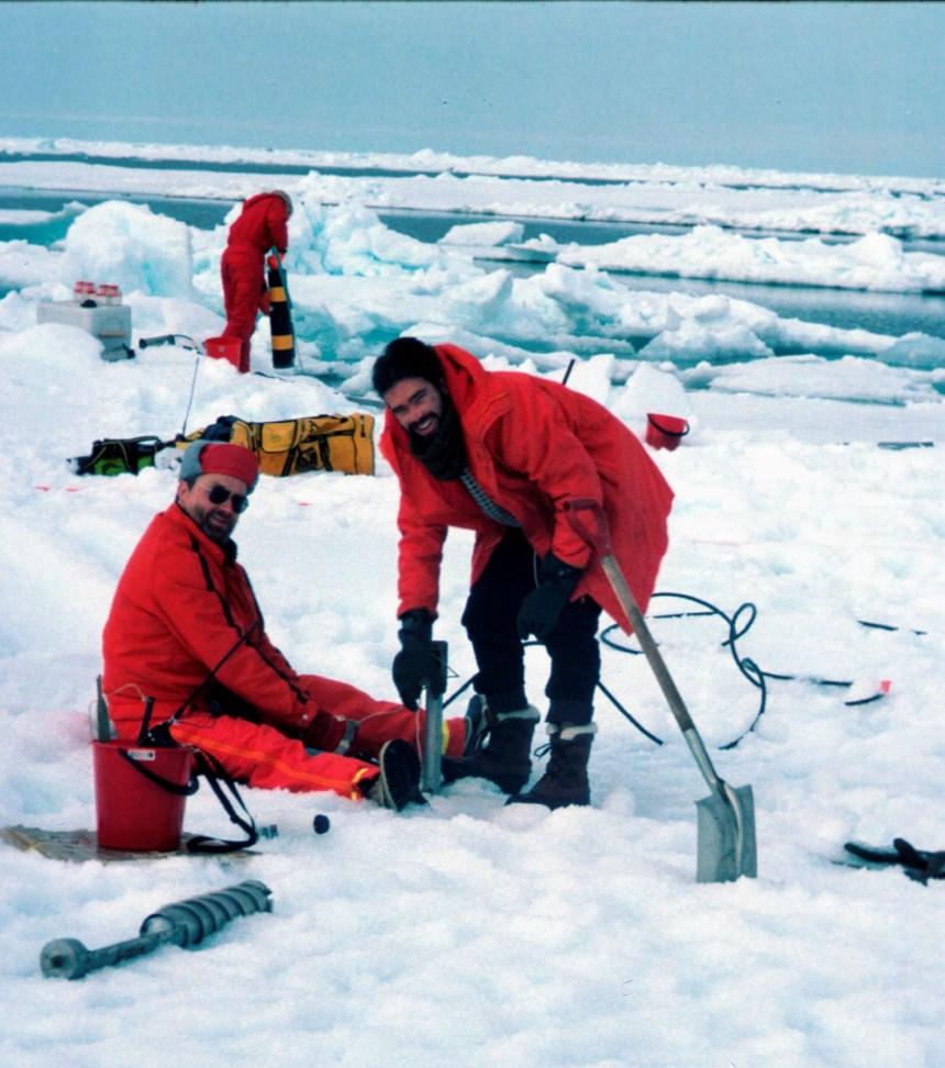 Ice Bar 1996, Fellestoktet : oseanografisk tokt