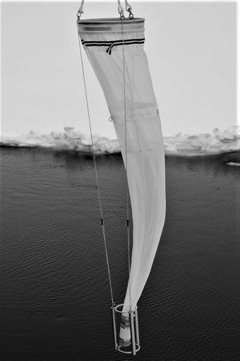 Plankton net (Photo: Rudi Caeyers)
