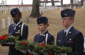 Wreaths Across America Ceremony civil Air Patrol