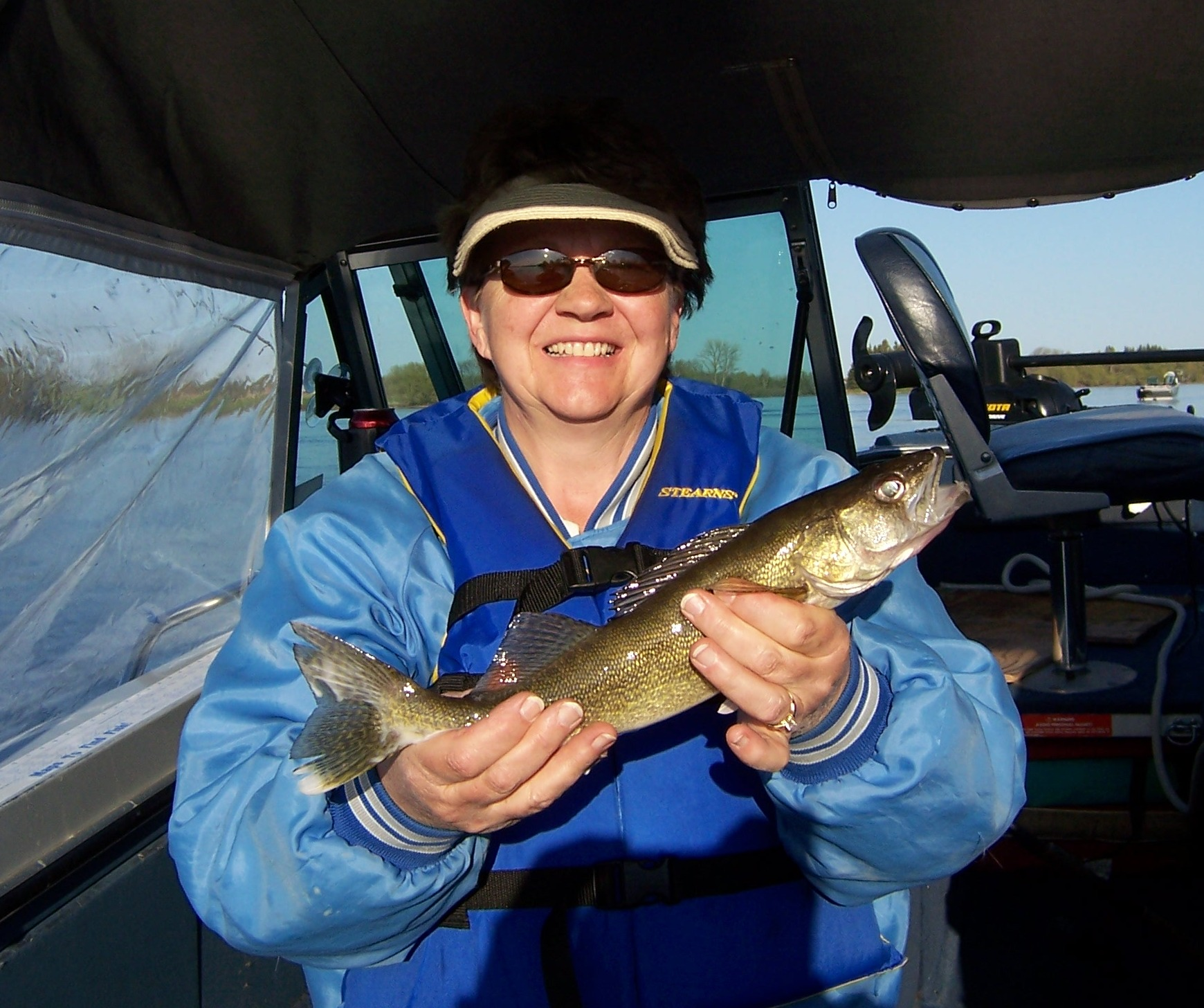 Sue with walleye