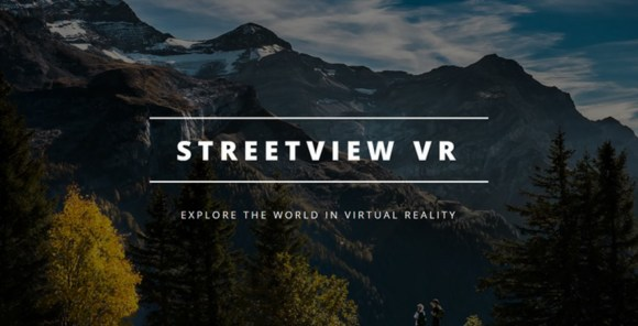 Street View VR Title