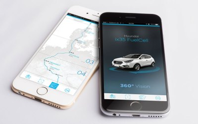 Fuel Cell 360 Augmented Reality App for Hyundai