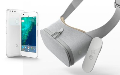 Google's New Pixel Phone, Daydream View VR Headset & Daydream Controller