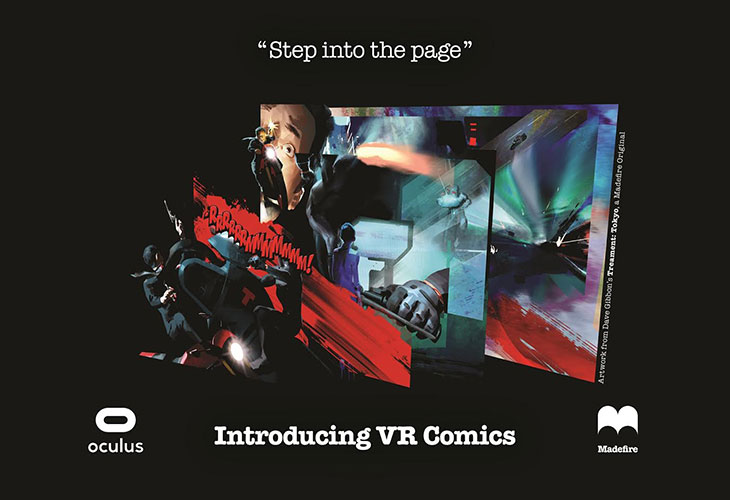 Madefire Announces VR Comics on Gear VR