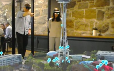 Taqtile Releases HoloMaps for Microsoft HoloLens