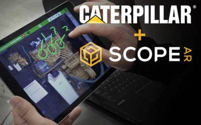 Scope AR and Caterpillar Launch CAT LIVESHARE