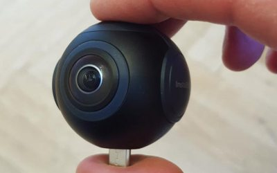 A review of the Insta360 Air 360° Camera for Android