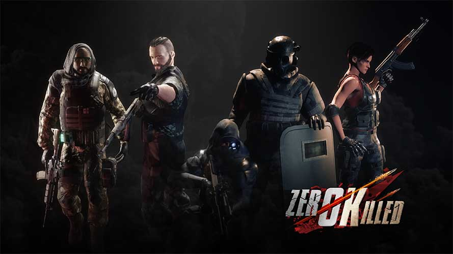 Zero Killed, a Tactical Multiplayer VR Shooter, Launches on Vive & Oculus Rift on Sept. 26th