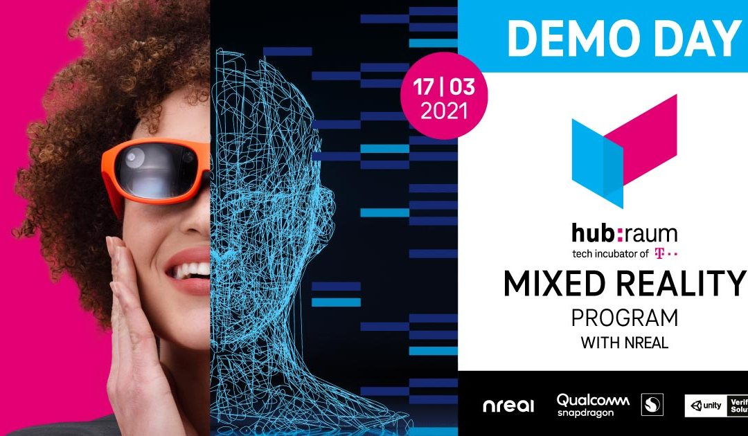 The hubraum Mixed Reality Program with NREAL DEMO DAY