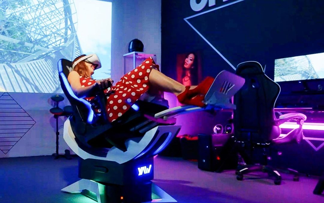 Yaw VR launches Their Second-Generation Motion Simulator on Kickstarter