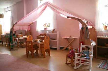 Potomac Crescent Waldorf School Nursery play kitchen