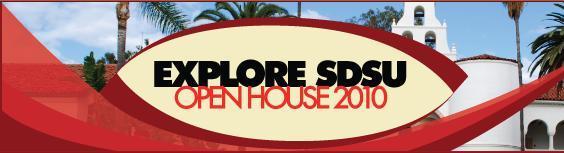 Explore SDSU Open House logo