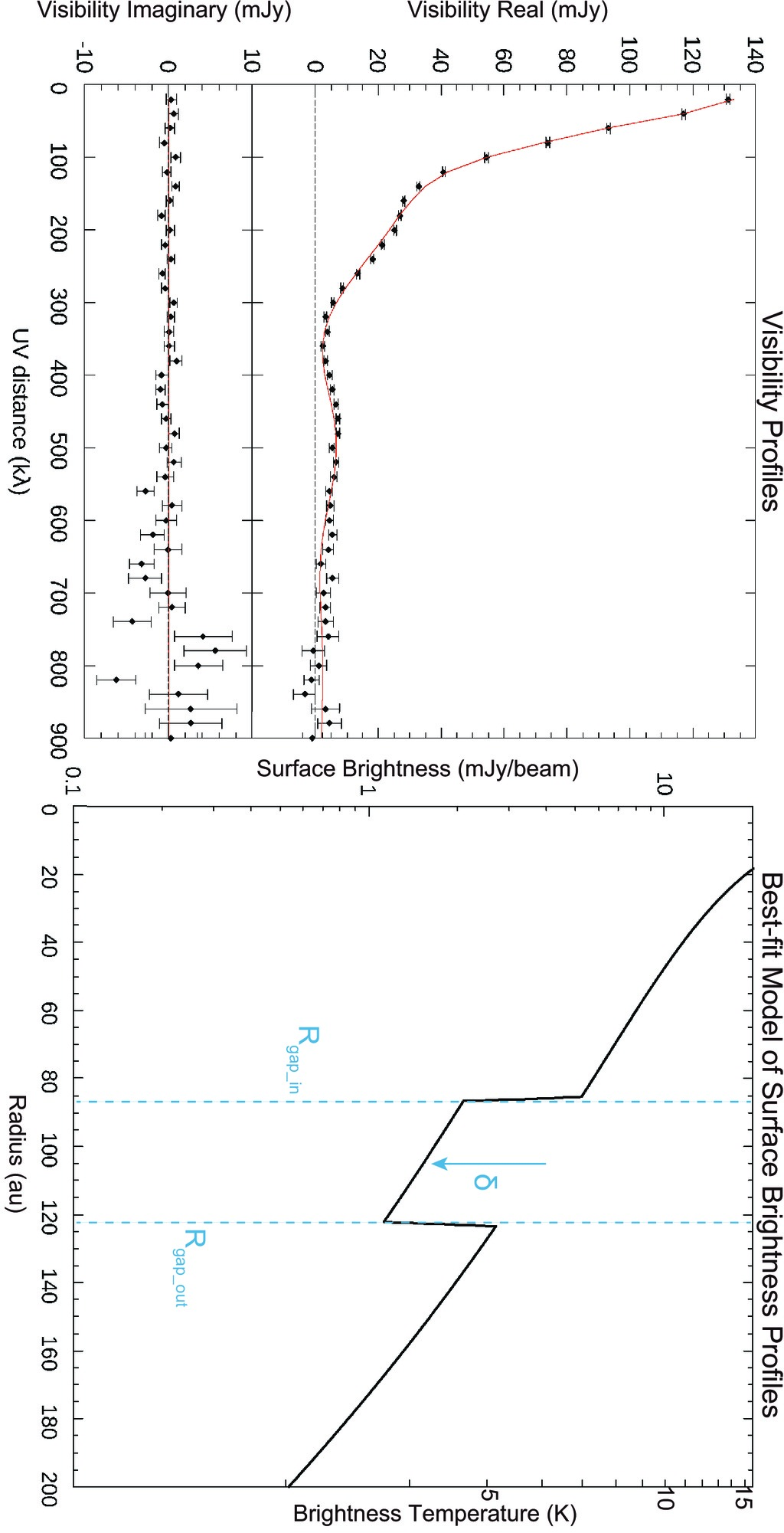 Probing Signatures Of A Distant Planet Around The Young T
