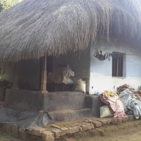 Traditional house which is almost extinct