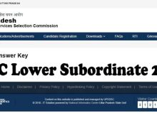 Check UPSSSC Lower Subordinate Answer Key 2019 of exam date 30-09-2019 & 01-10-2019 in this website. UPSSSC Lower Subordinate Result 2019 date is given here