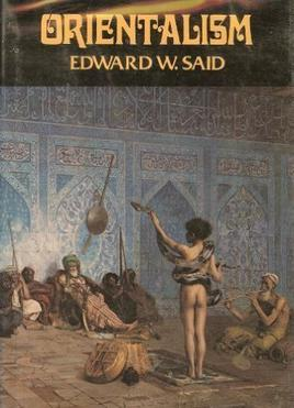 First edition image of Orientalism, by Edward Said.
