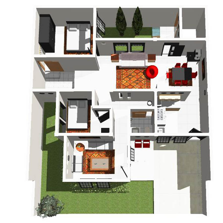 63 Desain Rumah Minimalis 10 X 12  Desain Rumah Minimalis