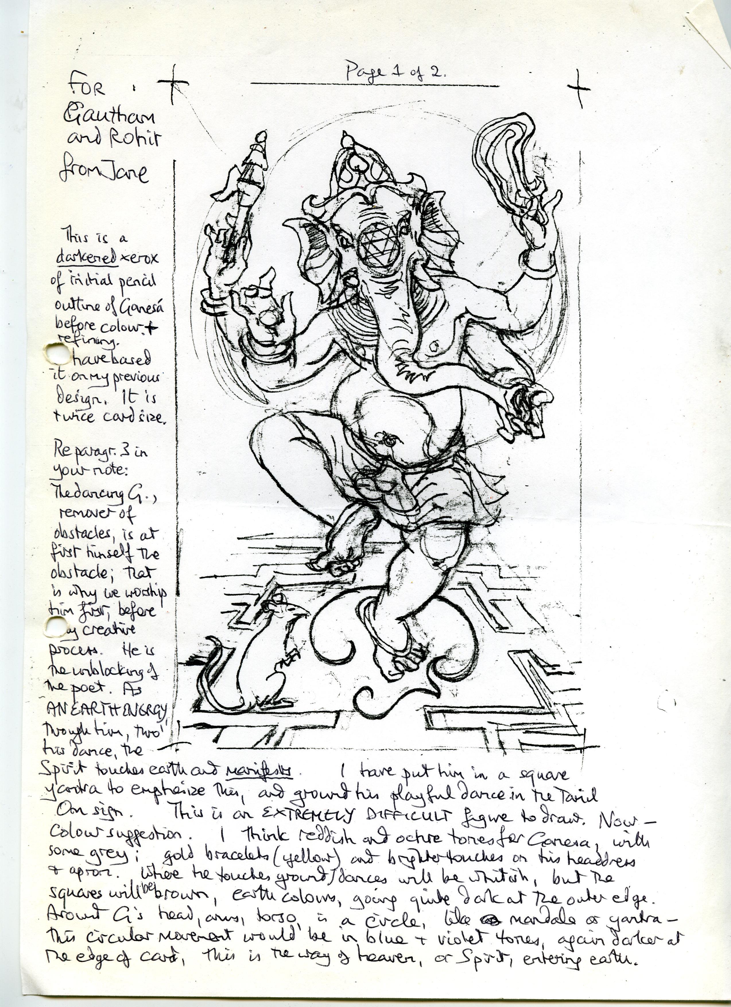 Rohit Arya_ Creation of Sacred India Tarot Grace card