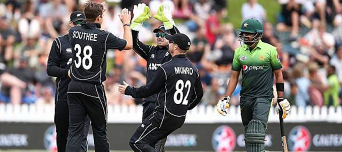 Pakistan face humiliating 5-0 defeat against New Zealand in ODI series