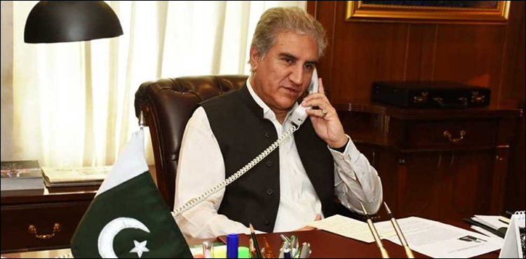 Photo of Qureshi calls his South African counterpart to debate Kashmir challenge