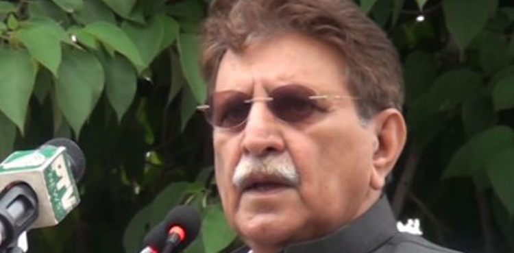 Photo of AJK PM chairs APC core committee's session to evaluate IOK scenario