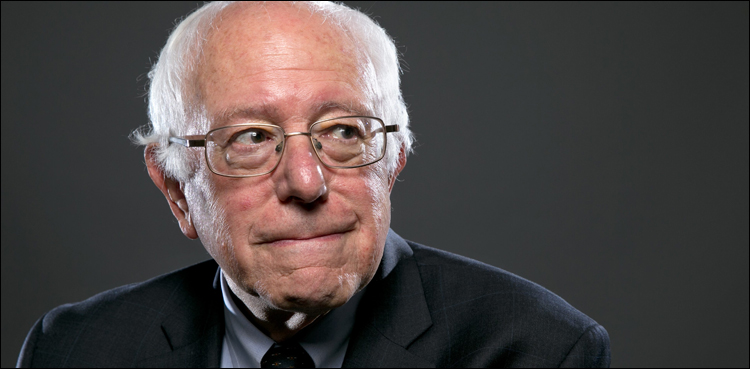 Photo of Bernie Sanders deeply involved about state of affairs in occupied Kashmir