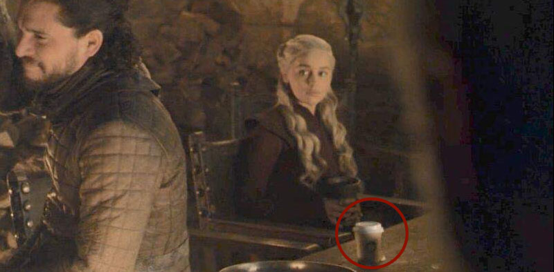 Starbucks in Westeros Coffee cup spotted in latest GoT