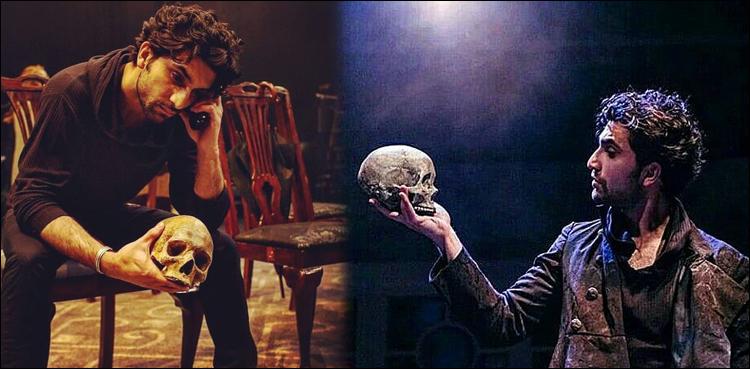 Photo of Ahad Raza Mir baggage Betty Mitchell Award for Hamlet