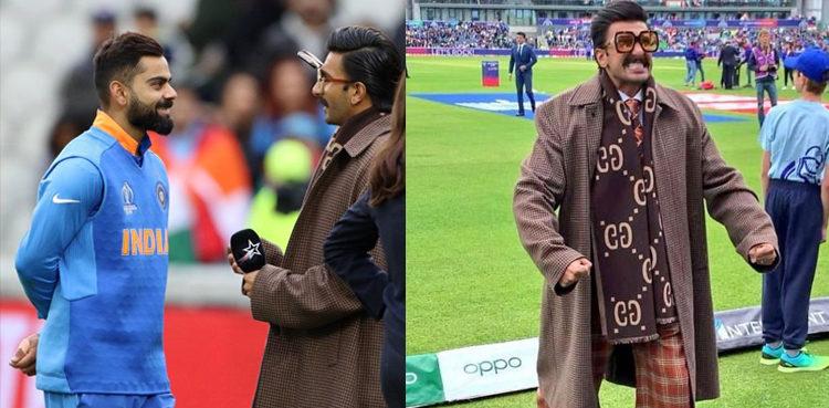Photo of Ranveer Singh comforts disheartened Pakistani fan