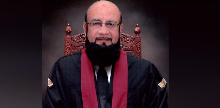 Photo of Choose Arshad Malik's video appears faux, says LHC chief justice