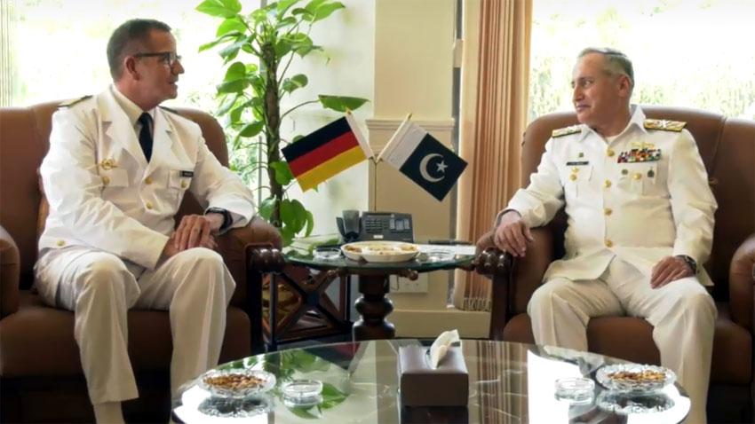 Photo of Pakistan, German Naval Chiefs focus on regional safety