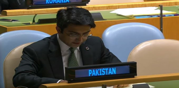 Photo of Pakistan submits rejoinder on Indian response to PM Khan's speech in UN