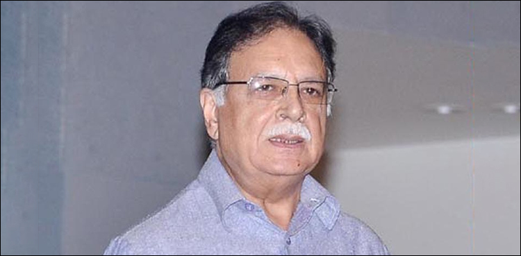 Photo of Maulana has but to unveil closing programme of his march: Pervaiz Rasheed