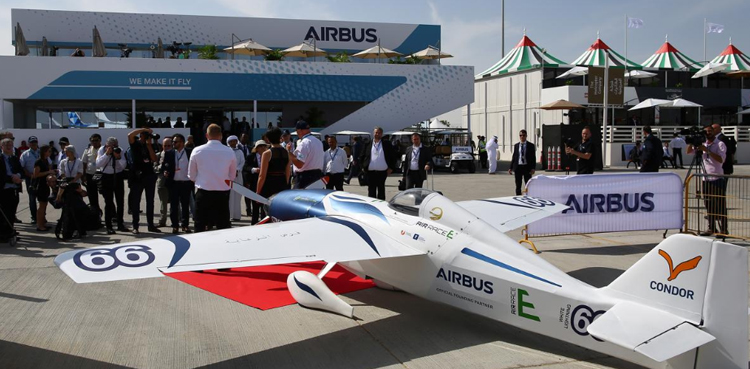 Photo of First electrical racing plane unveiled in Airbus-backed match