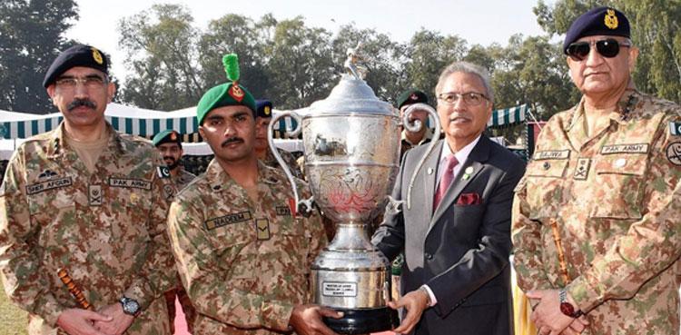 صدر مملکت کا جہلم کے قریب فائرنگ رینج کا دورہ ،آرمی چیف جنرل قمر جاوید باجوہ نے استقبال کیا