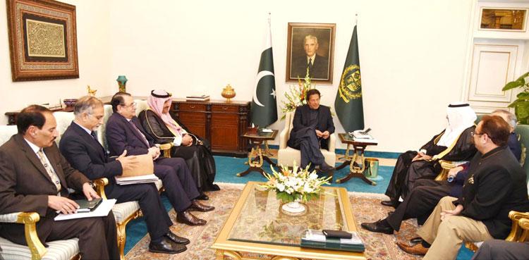 Photo of PM Imran, Saudi delegation talk about funding alternatives in Pakistan