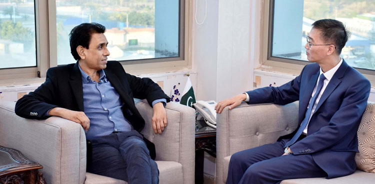 Photo of Pakistan to profit from China's experience in IT sector: Khalid Maqbool