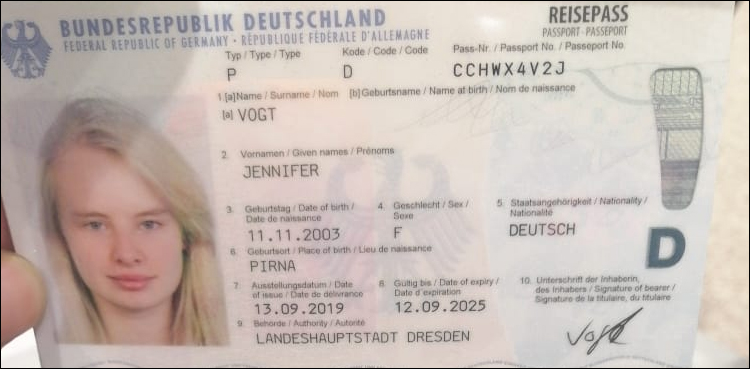 German lady allowed entry in Pakistan on 'humanitarian grounds'