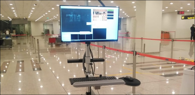 Photo of CAA installs modern scanners at Multan airport to contain COVID-19