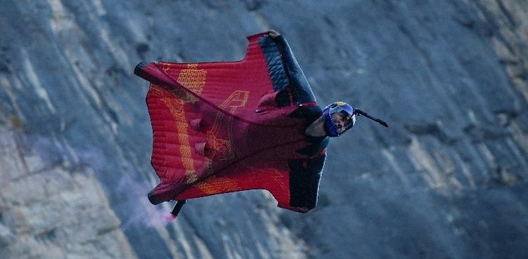 Zhang wingsuit jumper