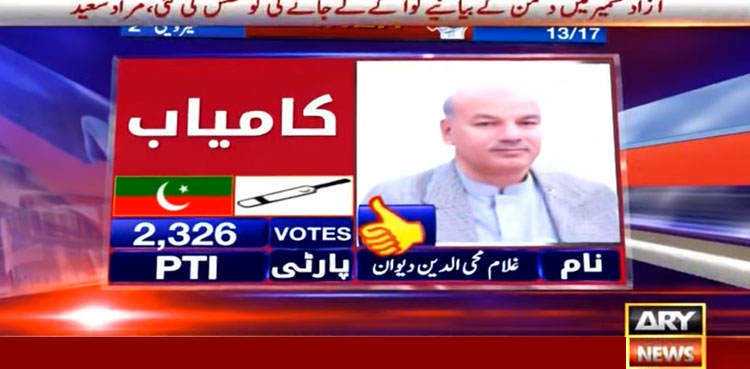 AJK 1 1 AJK Election live updates: Unofficial Results Get Latest Updates